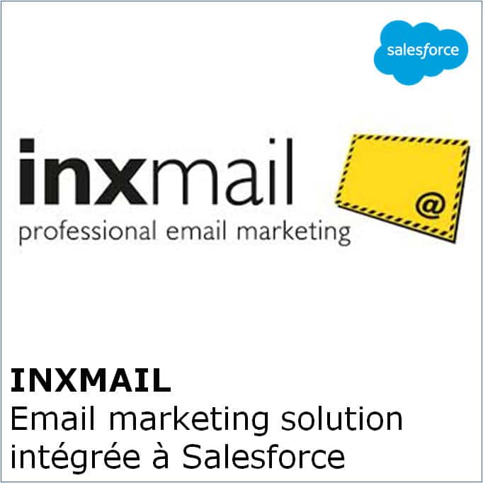 Inxmail - Email marketing solution intégrée à Salesforce