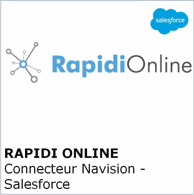 Rapidi Online - Connecteur Navision - Salesforce