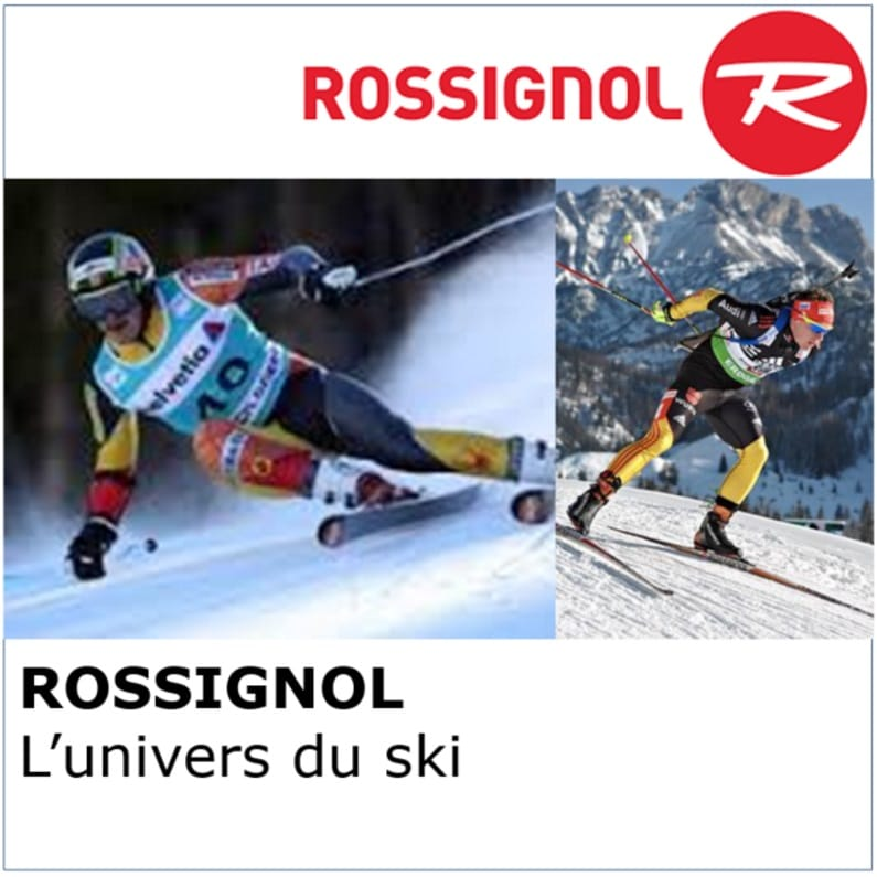 Solutions Salesforce secteur de sport : interface ERP, campagnes emailing, clients B2B, clients B2C - Rossignol